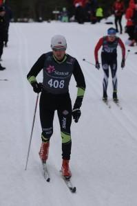 Tor Jøran under klassisk 10 km på Nes.