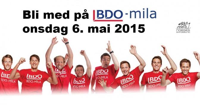 BDO-Mila onsdag 6. mai
