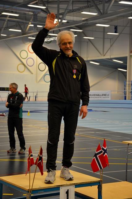 Arne Warem NM Gull Innendørs Mangekamp 2016