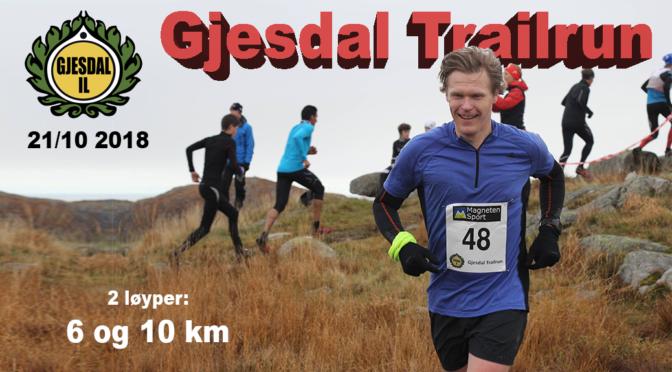 Gjesdal Trailrun 2018
