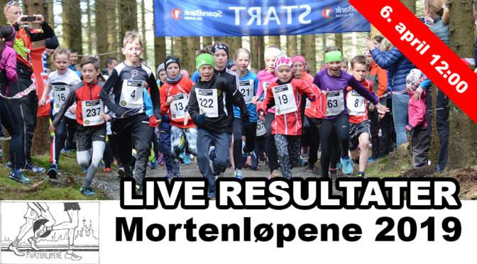 LIVE Resultater Mortenløpene 2019