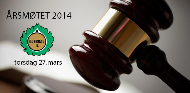 Årsmøtet 2014 – torsdag 27. mars 19:30