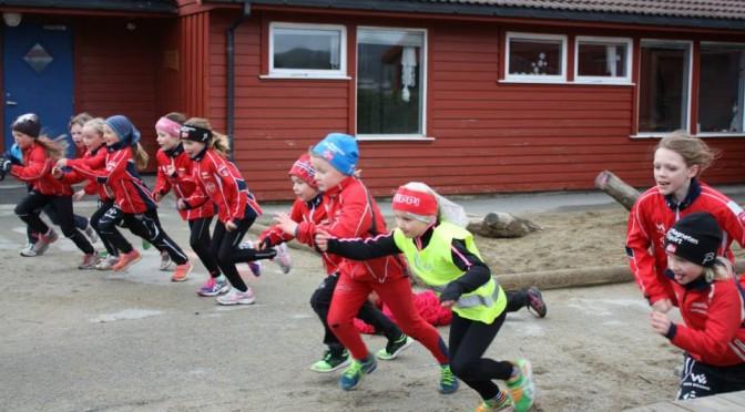 Skigruppas treninger etter påske for de yngste