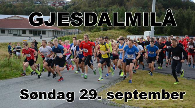 GJesdalmilå 2019